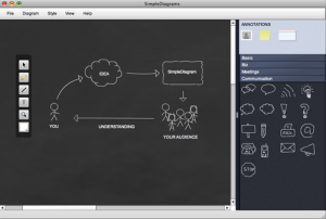simlple diagrams screenshot